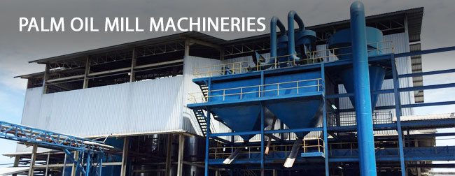 PALM OIL MILL MACHINERIES